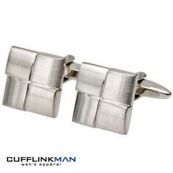 Brushed Horizons Cufflinks