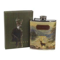 TED BAKER - Stag Hip Flask