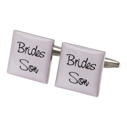 Square Pale Pink - Son of the Bride Cufflinks