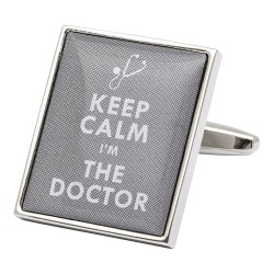 Keep Calm I'm The Doctor Cufflinks