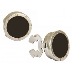 Black Onyx Port Hole Button Cover