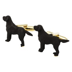Black Gun Dog Cufflinks