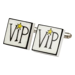 VIP Bone China Cufflinks