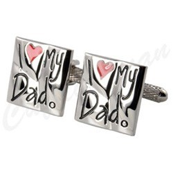 I love my Dad Cufflinks
