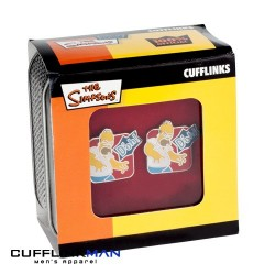 "Simpsons ""Doh' Cufflinks"