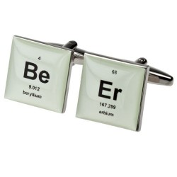 Beer - Periodic Table Cufflinks