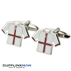 England Shirt Cufflinks