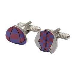 Jockey's Silks Cufflinks
