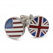 Cufflinks By National Flags