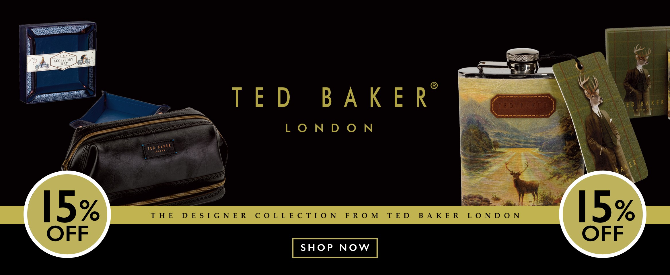Ted Baker 15% Off